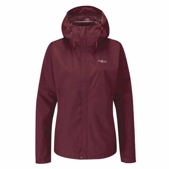 Rab Downpour Eco Jacket W - Deep Heather
