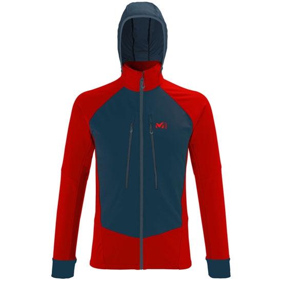 Millet Pierra Ment' II Jacket - Red/Saphir