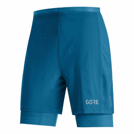 Gore R5 2IN1 Shorts - Sphere Blue