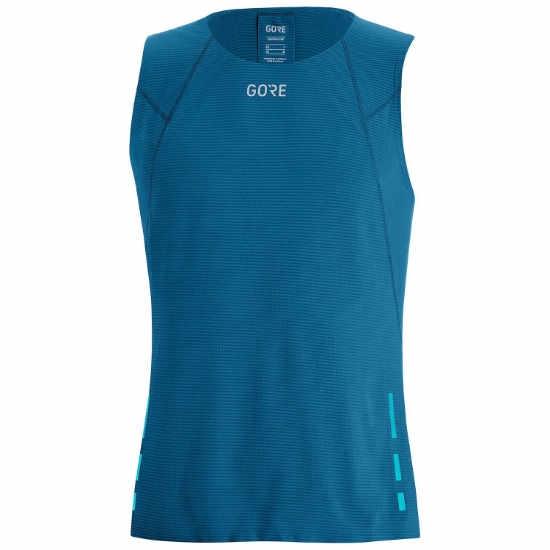 Gore Wear Contest Singlet - Sphere Blue