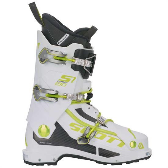 Scott Bota Esqui S1 Carbon White/green -