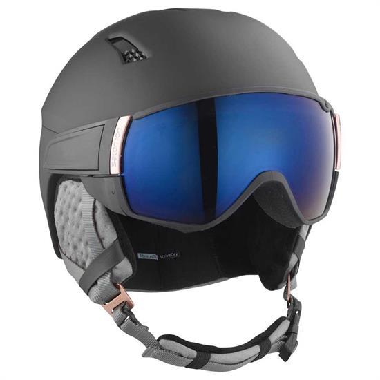 Salomon Helmet Mirage S - Black/Rose Gold