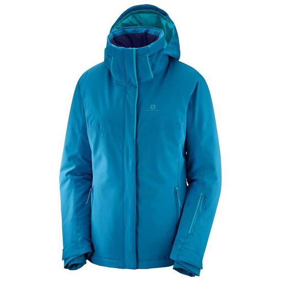Salomon Stormpunch Jacket W - Lyons Blue