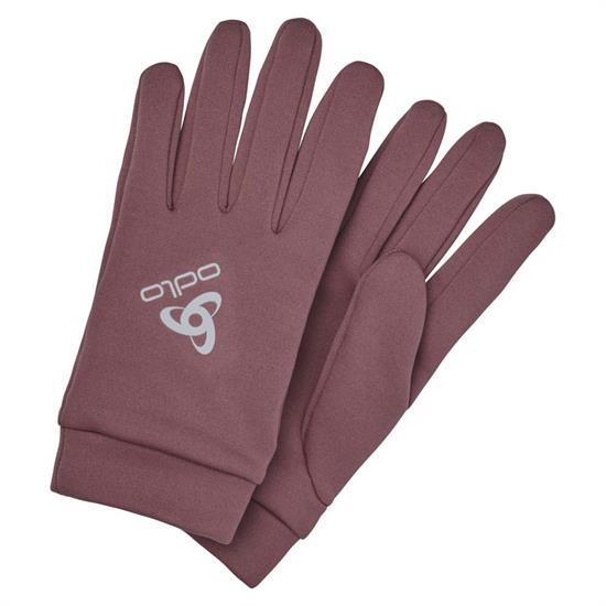 Odlo Gloves Stretchfleece Liner Warm - Roan Rouge