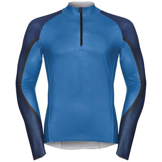 Odlo Racesuit Aeroflow Racesuit - Blue Jewel