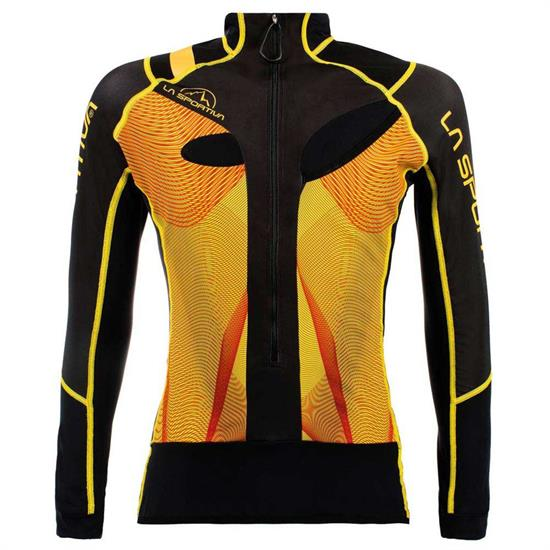 La Sportiva Stratos Racing Jacket - Black/Yellow