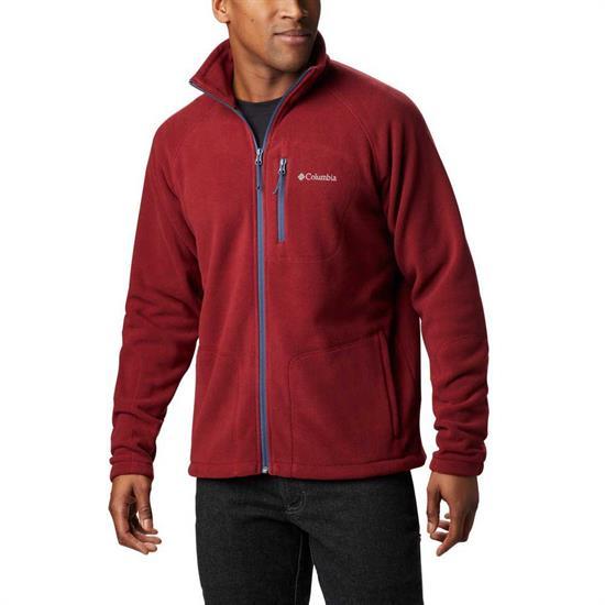 Columbia Fast Trek II Full Zip Fleece - Red Jasper