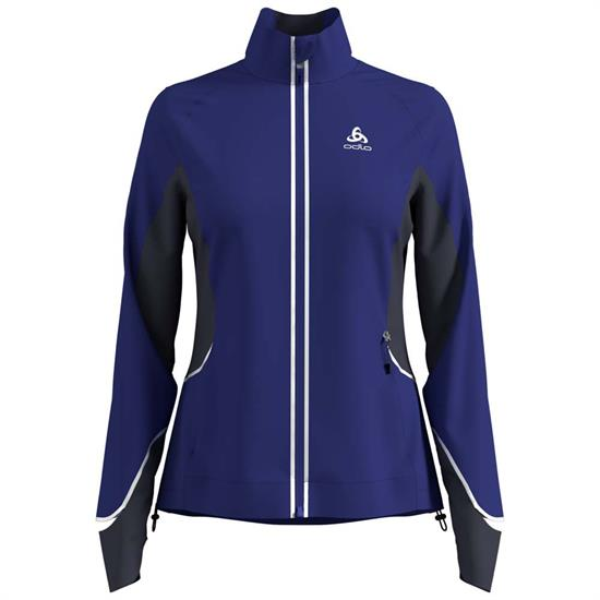 Odlo Zeroweight Pro Jacket - Clematis Blue/Odyssey Gray
