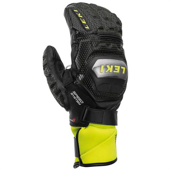 Leki Wc Race Ti S System Mitt - Mitt Black/Ice Lemon