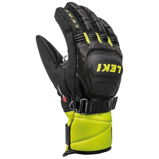 Leki Wc Race Coach Flex S Gtx - Black/Ice Lemon