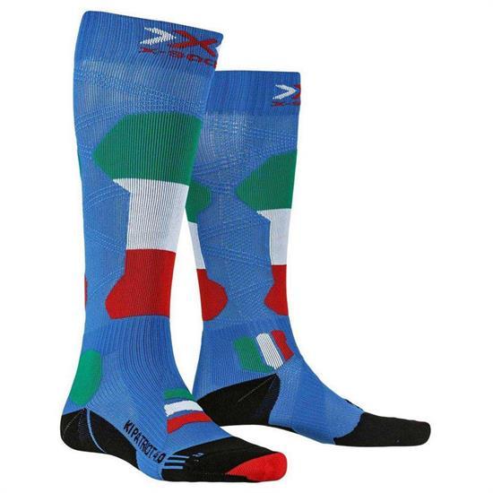Xsocks Calcetin Ski Patriot 4.0 Italy - T018