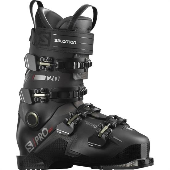 Salomon Boots S/Pro Hv 120 Blk/Red/Bellug - BLACK