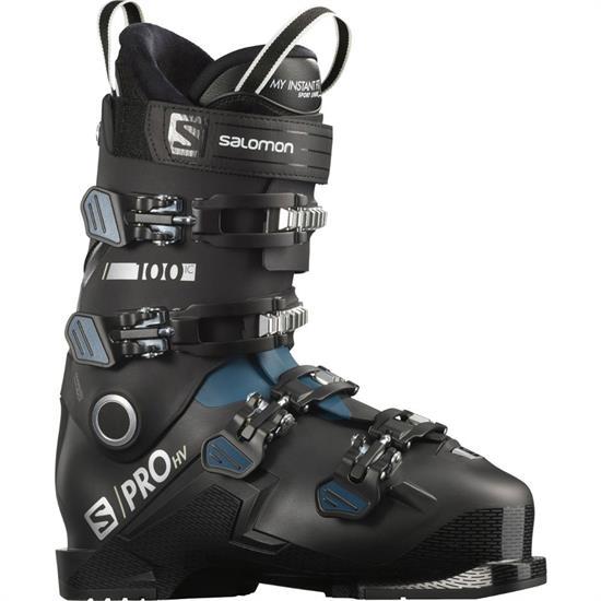 Salomon Boots S/Pro Hv 100 Ic Black/Blue/Si - BLACK