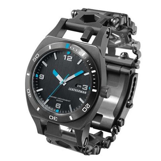 Leatherman Reloj Tread Tempo - Black