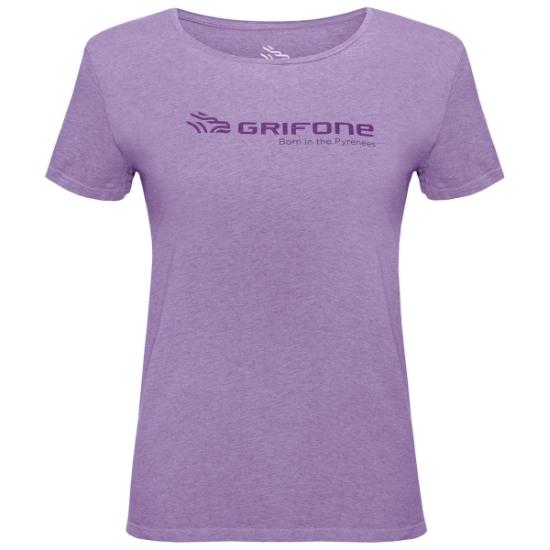 Grifone Cerler Lady T-shirt - Violet Tulle