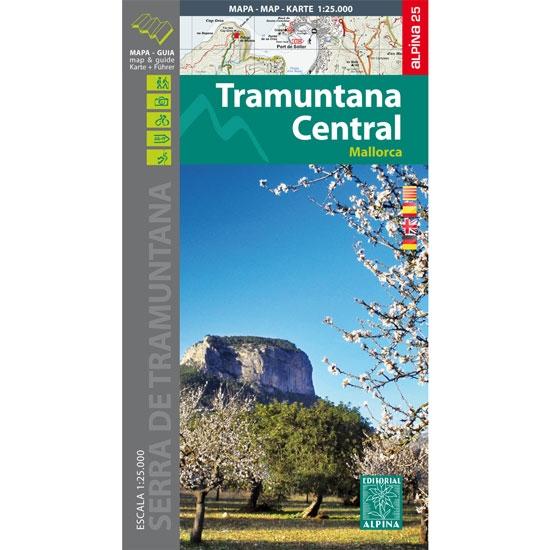 Ed. Alpina Mapa Tramuntana Central 1:25000 -