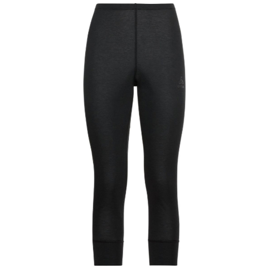 Odlo Active Warm Eco 3/4 Baselayer Pants W - Black