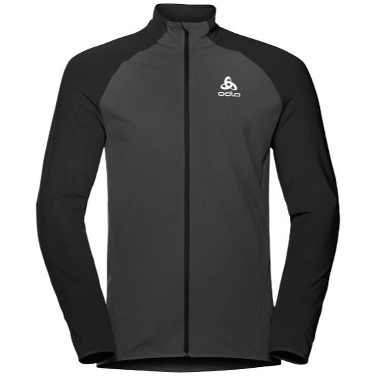 Odlo Zeroweight Warm Hybrid Running Jacket - Black