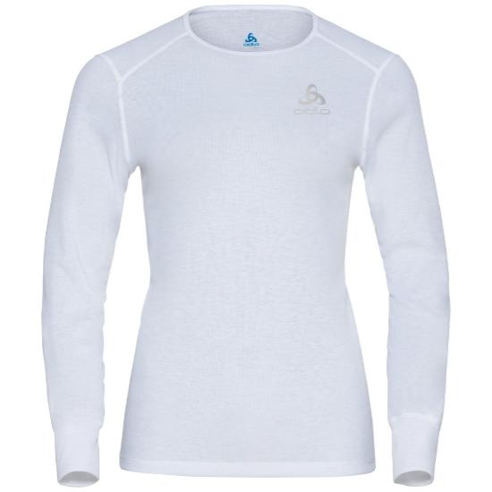 Odlo Active Warm Eco LS Baselayer Top W - White