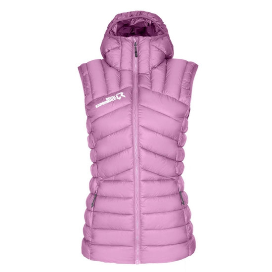 Rock Experience RE.Cosmic Padded Vest W - Mauve Orchid