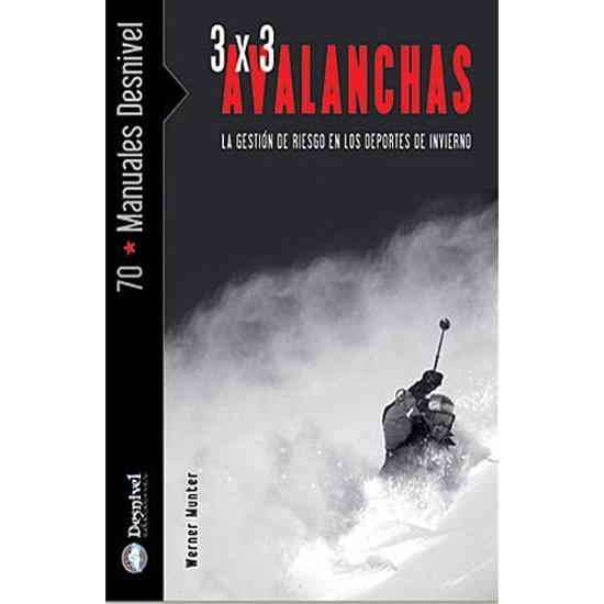 Ed. Desnivel 3x3 Avalanchas -