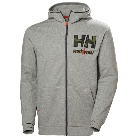 Helly Hansen Kensington Zip Hoodie - Grey Melange