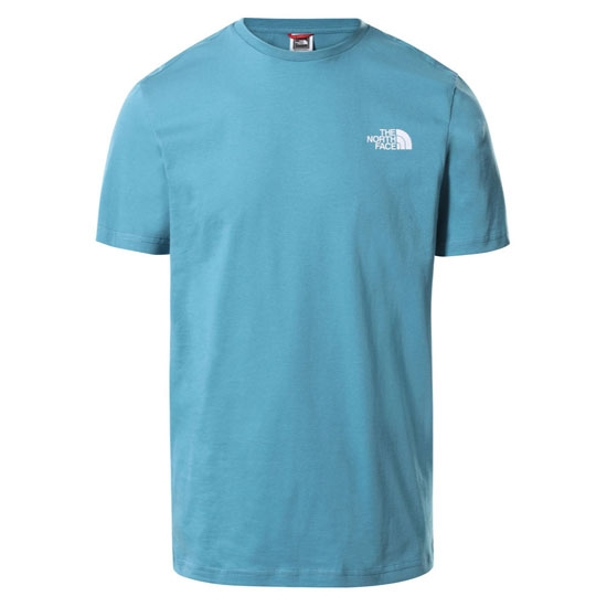 The North Face Simple Dome Tee - Storm Blue/TNF White