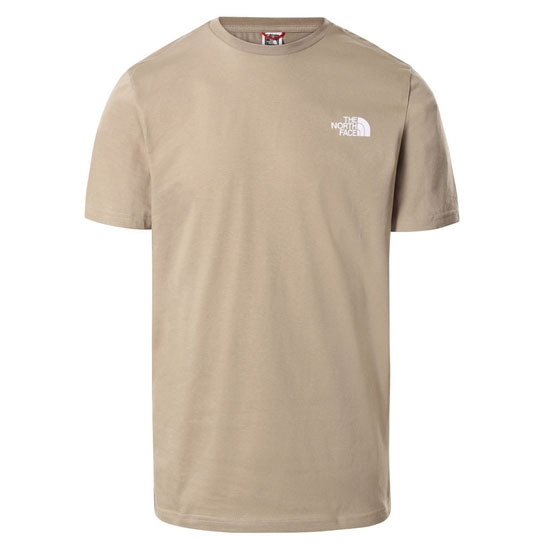 The North Face Simple Dome Tee - Kelp Tan