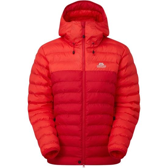 Mountain Equipment Superflux Jacket W - Capsicum/Pop Red