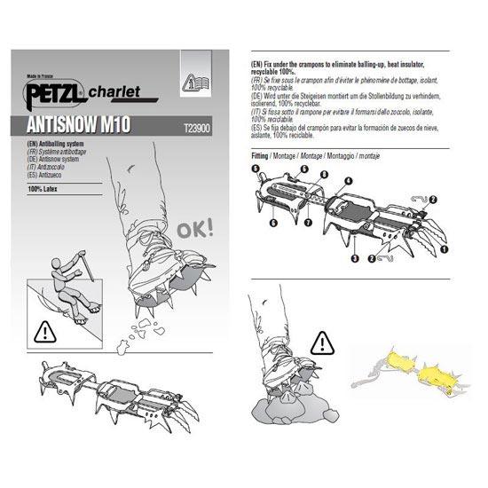 Petzl Antisnow M10 Leverlock -