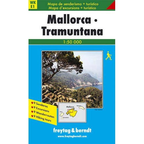 Ed. Freytag & Berndt Mallorca - Tramuntana 1:50 000 -