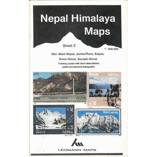 Ed. Leomann Maps Pu. Mapa Nepal Himalaya 2-Mid-West Nepal -