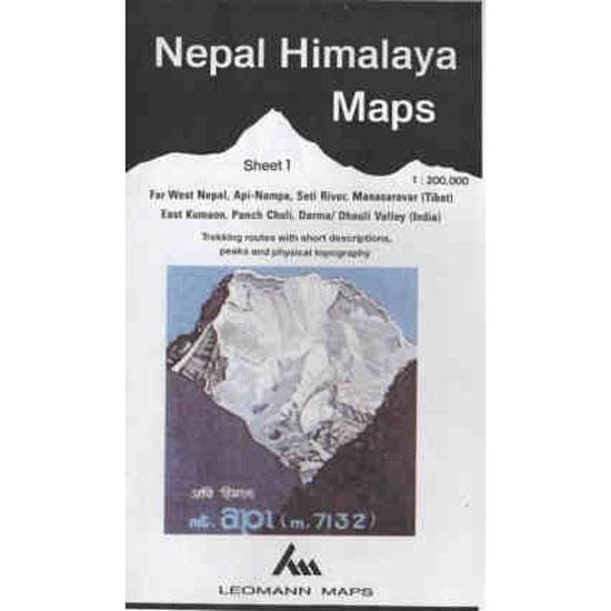 Ed. Leomann Maps Pu. Mapa Nepal Himalaya  1-Far West Nepal -