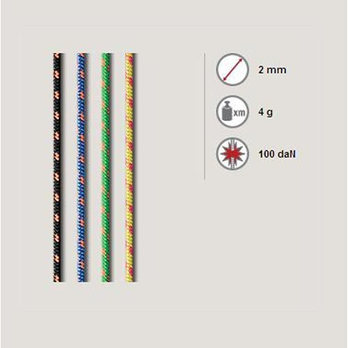 Roca Auxiliary Rope 2 mm (by metres) -