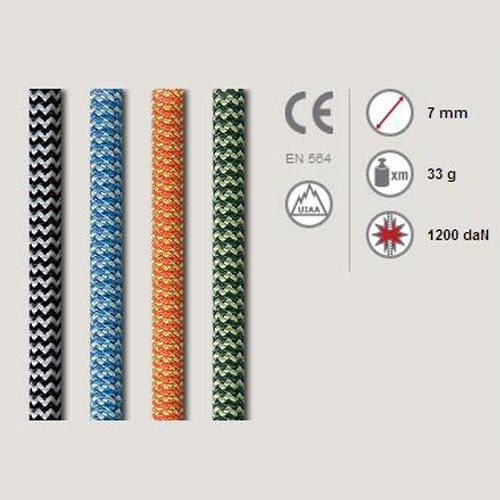Roca Auxiliary Rope 7 mm (by  metres) -
