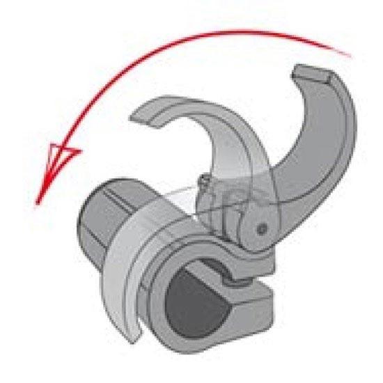 Komperdell Power Lock For Titanal 16 / 14mm - Photo de détail