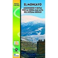 Ed. Piolet Moncayo Map 1:30000