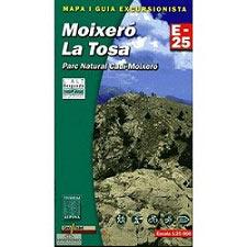 Ed. Alpina Moixeró La Tosa E 25 Map