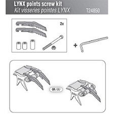 Petzl Lynx Points screw Kit