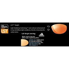 Adidas Eyewear LST Bright AF Orange Elevation Lens