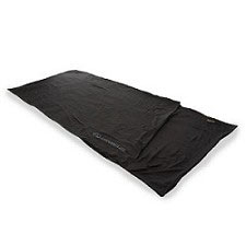 Lifeventure EX3 Silk Sleeper Rectangular Black