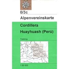 Ed. Amp Mapa cordillera Huayhuash 1:50000