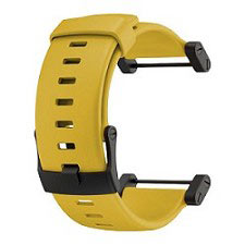 Suunto Core Yellow Rubber Strap