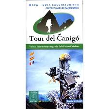 Ed. Alpina Tour del Canigó Mapa y Guía