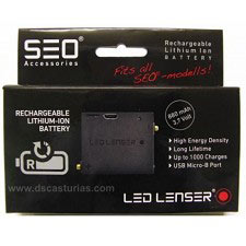 Led Lenser Batería Para Serie SEO