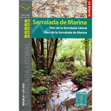 Ed. Alpina Mapa Serralada de Marina 1:25000
