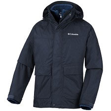 Columbia Franklin Cliff  Interchange Jacket