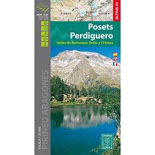 Ed. Alpina Mapa Posets Perdiguero E25