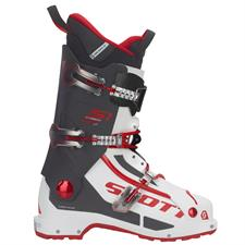 Scott Bota Esqui S1 Carbon Longfiber White/red