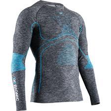 X-bionic T-Shirt Ls Energy Accum 4.0 M Dk Gr Ml/B